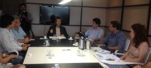 Entidades reunidas discutem segurança nos ambientes de uso público