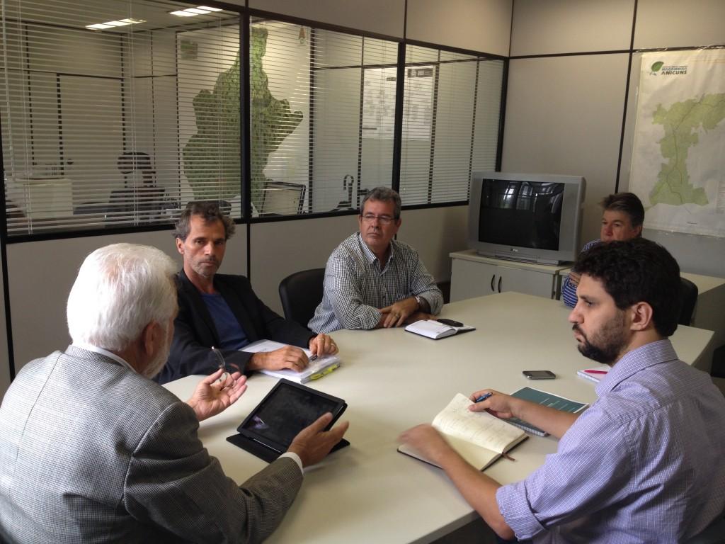 Líderes presentes na reunião entre o CAU/GO e a Secretaria de Desenvolvimento Urbano