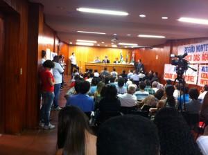 Audiência Pública Câmara de Vereadores