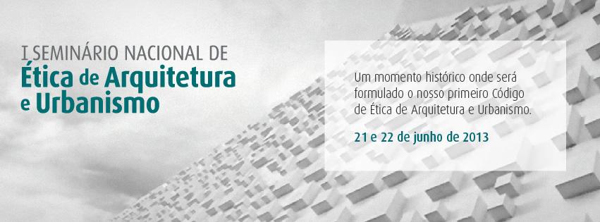 banner seminário de ética