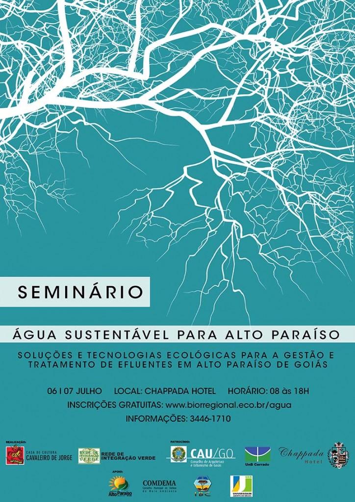 Cartaz Seminário Água Sustentável